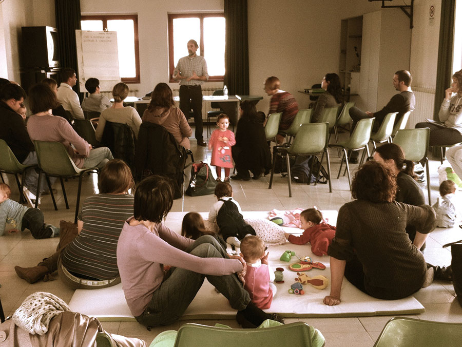 conferenza genitori si diventa