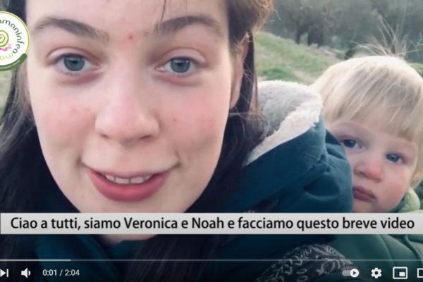 Veronica e Noah raccontano Mamaninfea
